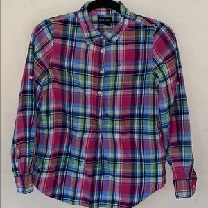 🦄3 FOR $10! Ralph Lauren blouse
